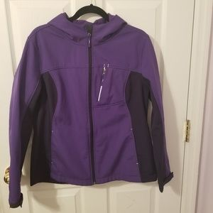 Free Tech Women's Colorblock Jacket Size 12-14 (L)